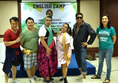 Workshop English Camp 16